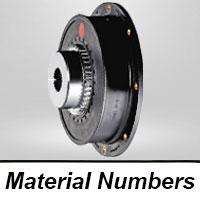 Bowex ELASTIC Material Numbers